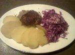 Курица в грибном креме по-франконски (Haehnchen in Pilzcreme)