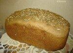 Ржано-пшеничный хлеб на кефире с солодом и цельнозерновой мукой (Polaris PBM 1501 D)