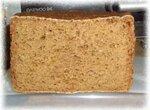 Хлеб ржаной на закваске в хлебопечке.