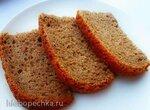 Пшенично-ржаной многозерновой заварной хлеб на огуречном рассоле (хлебопечка Brand 3801)
