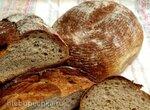 Хлеб с манкой и полбой