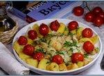 Жареная треска с помидорами от Гордона Рамзи