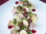 Салат с фрикадельками - Preiselbeer-Hackbаllchen mit Knаckebrot-Salat