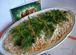 Слоёный салат «Сельдь под одеялом»