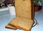 Квасной пшенично-ржаной хлеб в хлебопечке