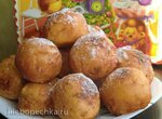Творожные шарики-пончики (Topfen ballchen)