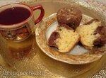 Кексы с творогом и какао (Kakao-Quark-Muffins)