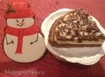 Пирог с какао и творогом (Kakao-Quark-Kuchen)