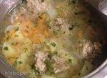 Детский супчик и гречка с фрикадельками (скороварка+плита)