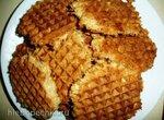 Песочные вафли с арахисом (гриль Steba PG 4.4)