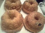 Творожные кексы с изюмом в Гирлянде
