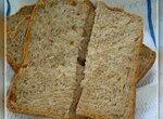 Сливочный ржаной хлеб (хлебопечка)