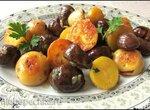 Картофель с каштанами (Maroni-Kartoffeln)