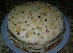 Торт с пастернаком и грецким орехом