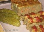 Суфле из печени и макаронных изделий