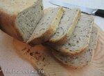 Пшенично-ячменный хлеб в аэрогриле