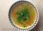 Овощной суп с булгуром