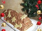 Торт «Sterntaler» с шоколадным кремом (Sterntaler-Kuchen mit Schokosahne)