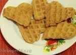 Вафли-печеньки солнечные с корицей