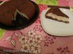 Шоколадный пирог с творожной начинкой