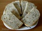 Пшеничный хлеб с семенами и травами