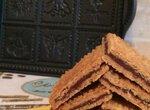 Печенье песочное с шоколадной прослойкой