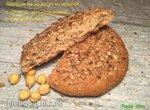 Хлеб и лепешки на закваске с нутовой, гречневой и цельнозерновой мукой
