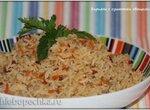 Бириани с сушеными овощами (постный / вегетарианский вариант) мультиварка Brand 37501