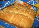 Хлеб Плиточки на закваске с тыквенным пюре и семенами