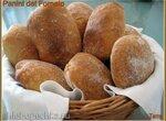 Panini del Fornaio. Квадратные хлебцы От пекаря