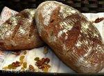 Хлеб пшенично-ржаной на закваске Десертный