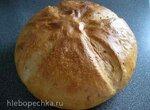 Хлеб пшеничный Бесхлопотный с семенами льна и кунжута
