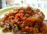 Польпетте (polpette) в томатно-овощном соусе в Steba DD1