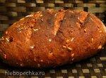 Десертный клюквенный хлеб на жидких фруктовых дрожжах