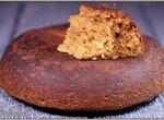 Овсяно-грушевый пирог (постный)