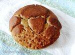 Хлеб с сушеными грибами и морской капустой