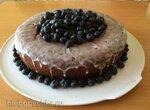 Черничный пирог-сюрприз (Майда Хиттер)/Blueberry Surprise Cake (Maida Heatter)