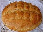 Пшеничный хлеб с мукой зеленой гречки