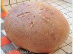 Хлеб тыквенный на жидких дрожжах