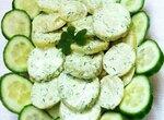Зелёный картофельный салат