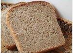 Хлеб пшенично-ржаной с бадьяном на жидких дрожжах