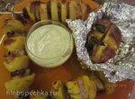 Сало и картошка - наше Фсе (3 варианта шашлыка)