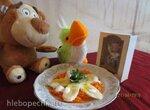 Закуска из моркови и банана для детей