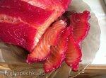 Красная рыба в свекольном соке Мастерская мира