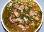 Ешиль шорба (Зеленый суп)