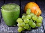 Зеленый коктейль Виноградная груша