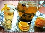 Ледяной чай с пряностями и газированной водой
