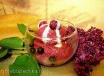 Шербет ягодно-тыквенный со сгущеным молоком