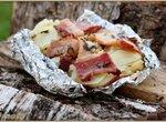 Картофель, запеченный в углях