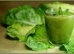 Зеленый коктейль Романтический мятный манго (В.Бутенко)